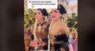 Viral Pengantin Tertukar, Suami Susah Bedakan Karena Istrinya Kembar