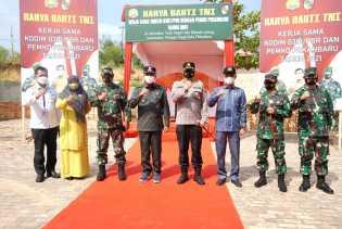 Wali Kota Hadiri Pembukaan Karya Bakti TNI di Kelurahan Bencah Lesung