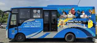 Layanan Bus Vaksinasi Pekanbaru, Dihentikan Sementara