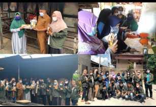Mahasiswa KKN UMRI Bantu Alat Produksi dan Pemasaran Mitra UMKM Ikan Salai