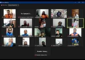 SARMMI Bersama GERHANA Timor Leste Kerja Sama Selenggarakan Webinar Internasional Pecinta Alam